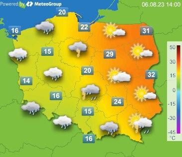 Mapka pogody