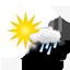 heiter, Regenschauer