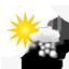 peu nuageux, faible averse de neige 2019-12-12 06:00:00